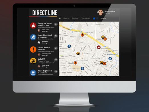 TulongPH Desktop Mockup