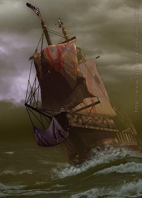 Senastillan Galleon Ship