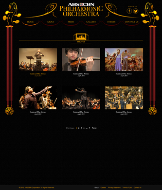 PhilHarmonic Orchestra Gallery Section