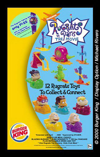 Burger King Rugrats Toys