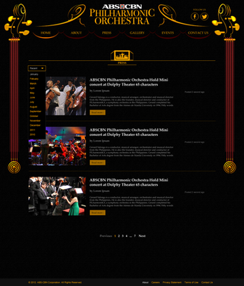PhilHarmonic Orchestra Media Section