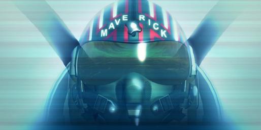 Topgun Watch Your Six Maverick Helmet