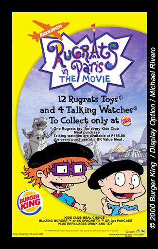 Burger King Rugrats