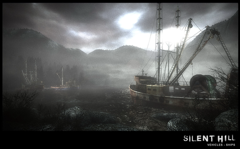 Silent Hill Downpour Tug Boat