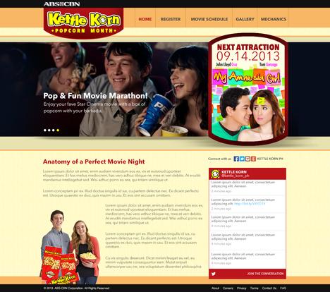 Kettle Korn Home