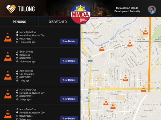 TulongPH Pending Action List for MMDA