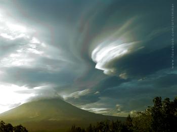 Whirling at Mayon