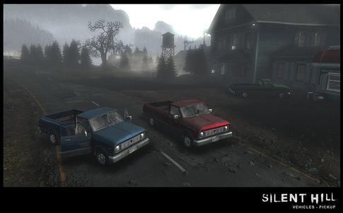Silent Hill Downpour Pickup Vehicles