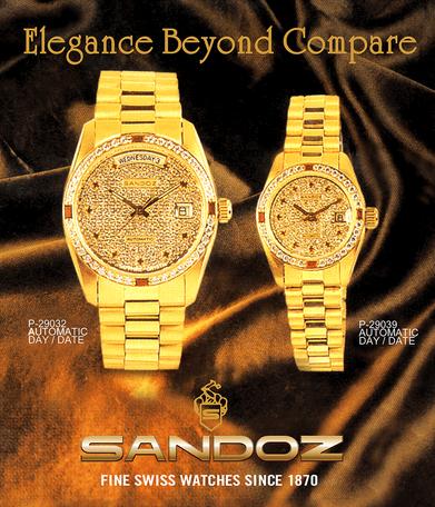 Sandoz Fine Swiss Watches