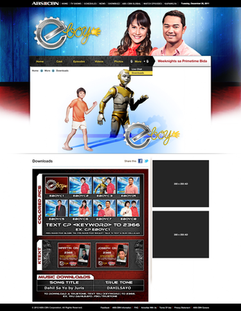 ABS-CBN Show Page - Downloads