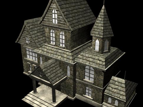 Sleepover Party Haunted House