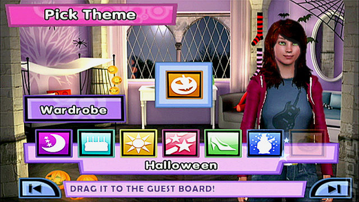 Sleepover Party In-game Pick Theme
