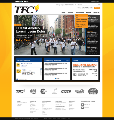 TFC - Home Page