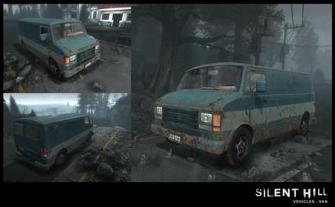 Silent Hill Downpour Van