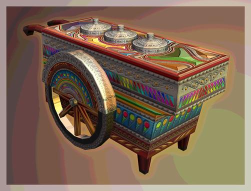 Dirty Ice Cream Cart