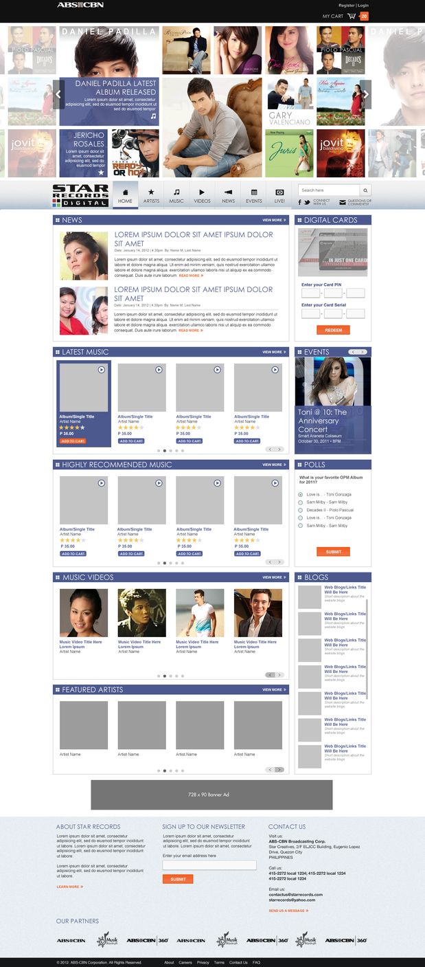 Star Records Home Page