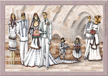 Wedding Fashion Design set