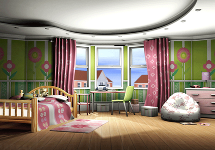 Sleepover Party Test Render