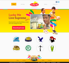 Lucky Me Website