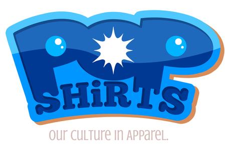 POP Shirts logo