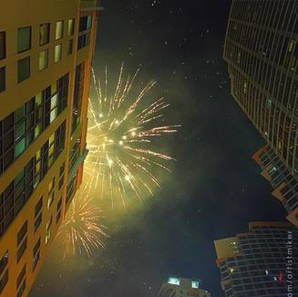 2015 New Year at  BGC