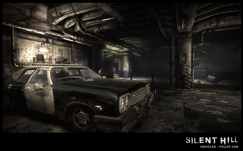 Silent Hill Downpour Classic Police Car