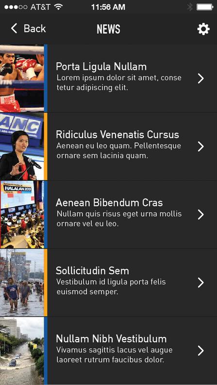 TulongPH News List Section