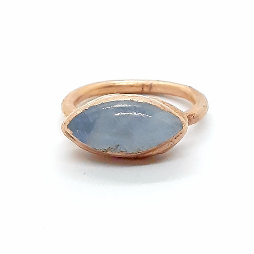 Electroformed Moonstone Ring