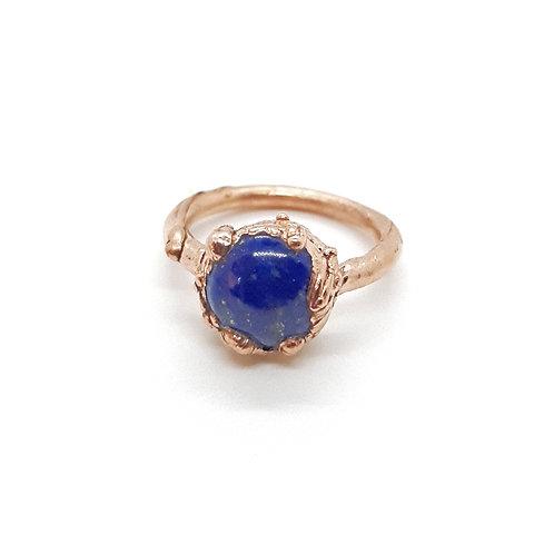 Electroformed Lapis Lazuli Ring