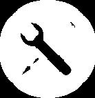 Инструменты Иконка Белый