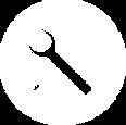 Strumenti Icon Bianco