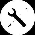 Tools Icon White