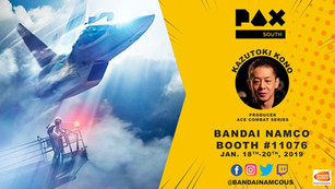 Interview with Ace Combat Brand Director Kazutoki Kono at PAX South 2019 (JAPANESE)
