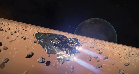 The Joy of Discovery: The  Maiden Voyage of an Elite Dangerous Newcomer