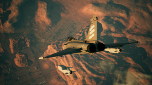 Hardpoint: Suppression of Enemy Air Defenses in Ace Combat