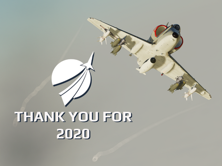Thank you for 2020, now onto 2021!