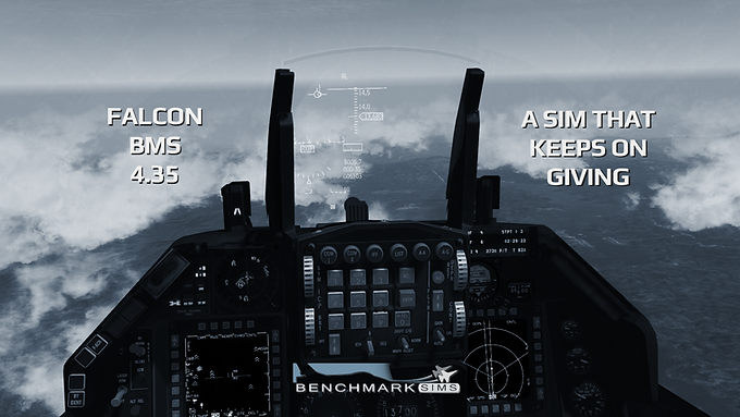 Falcon BMS 4.35: The sim that just keeps on giving