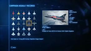 Thin Ace Combat 7 Assault Records