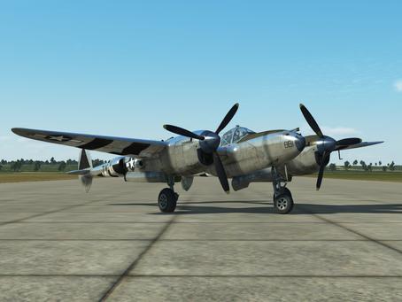 IL-2 Great Battles Plane Spotlight: P-38J Lightning