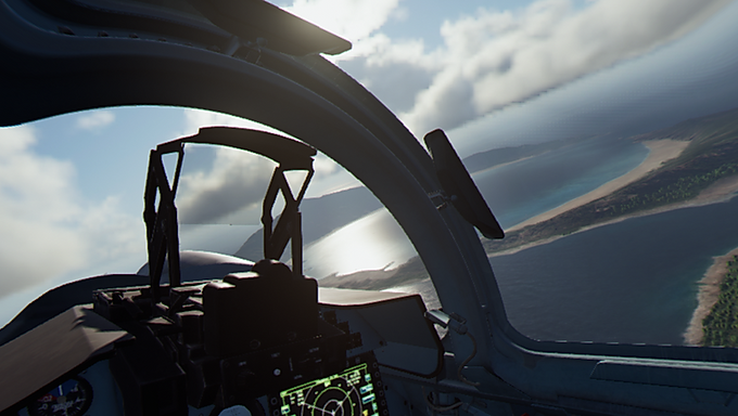 New Dimension of Appreciation, the Ace Combat 7 Virtual Reality Experience