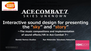 """CEDEC 2019: Interactive Sound Design for Presenting the """"Sky"""" and """"Story"""""""