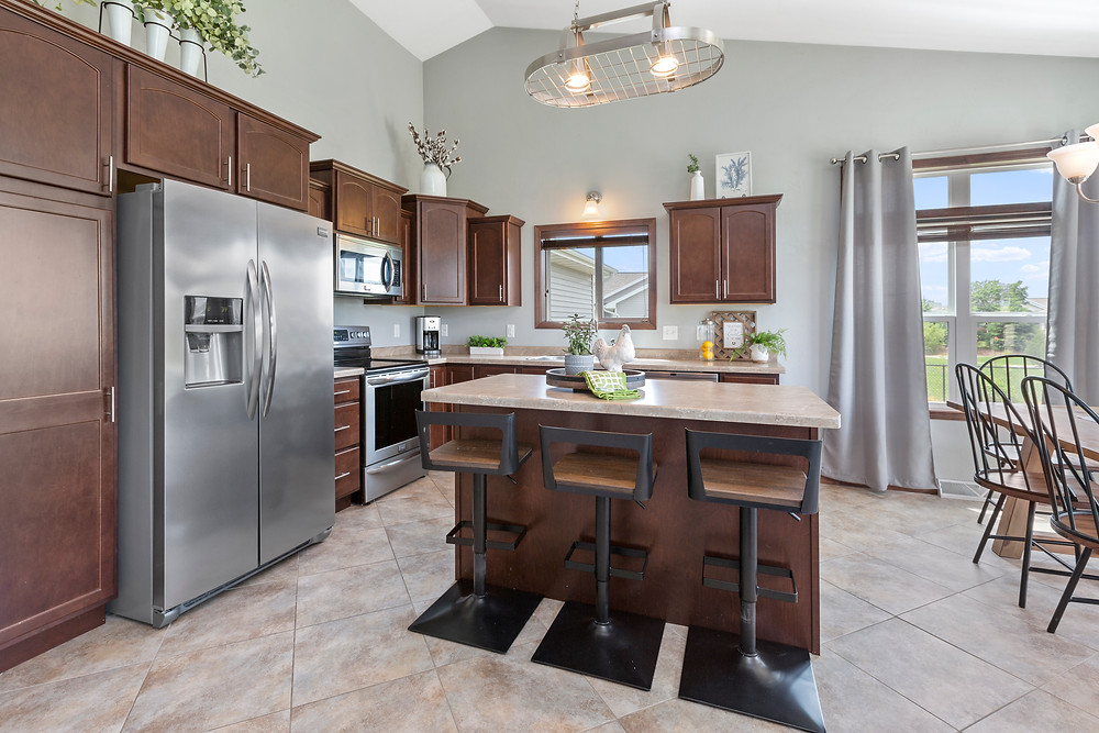 Interior Kitchen, Real Estate Photography, Kitchen Island