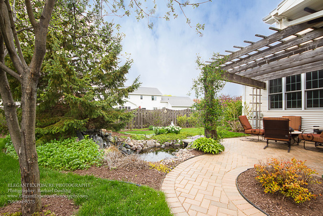 backyard oasis, patio, landscaping, real estate