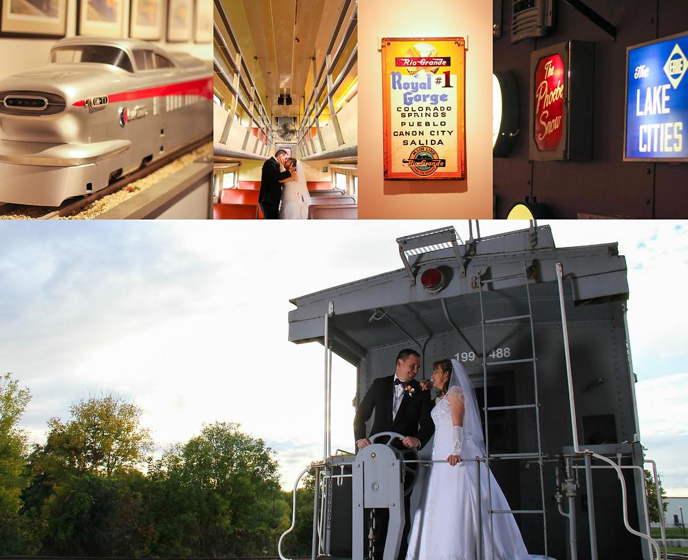 National Railroad Museum, Green Bay Wedding, Railroad Wedding