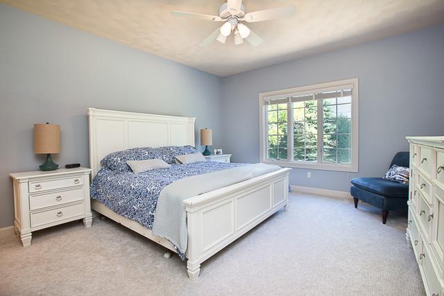 cozy master bedroom, master suite, appleton real estate