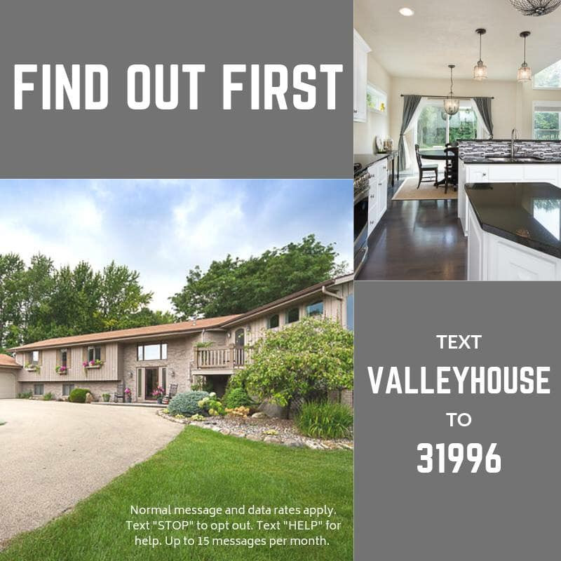 Find Out First, VALLEYHOUSE, Text message