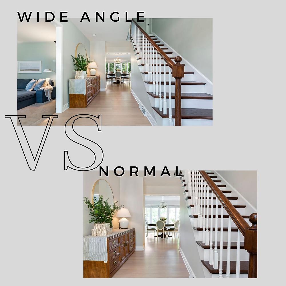 Wide Angle VS Normal
