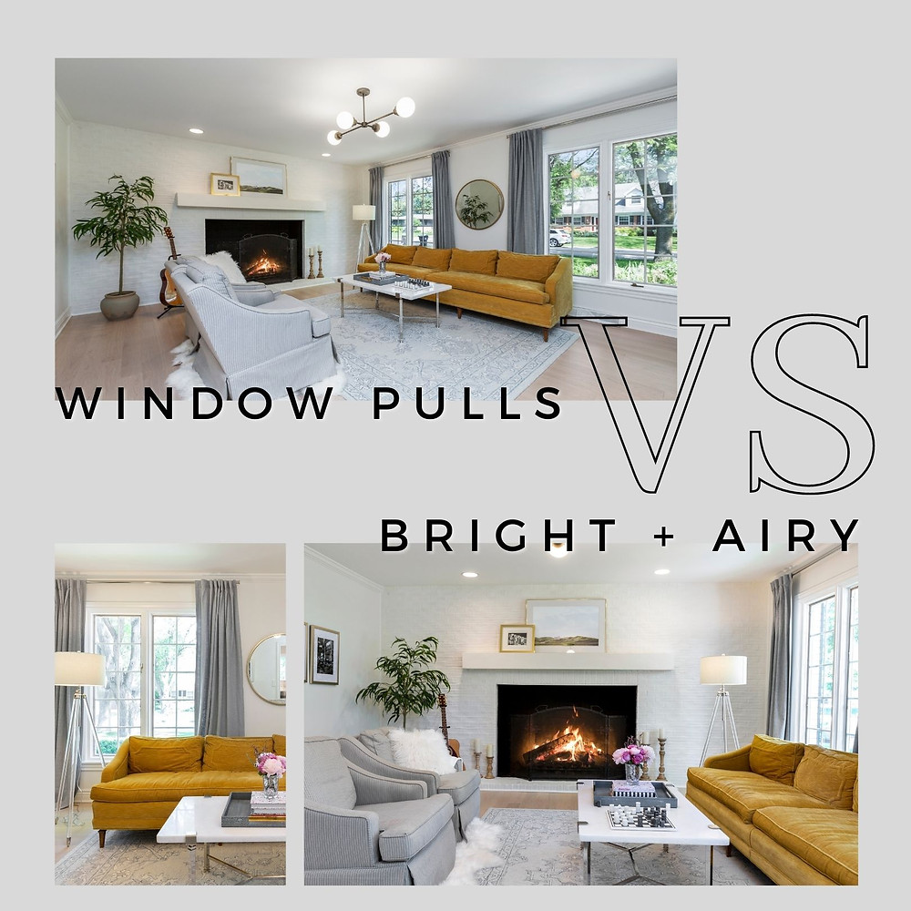 Window Pulls VS Bright and Airy