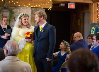 Melanie + Michael = Dutch Inspired Eco-Friendly Wedding