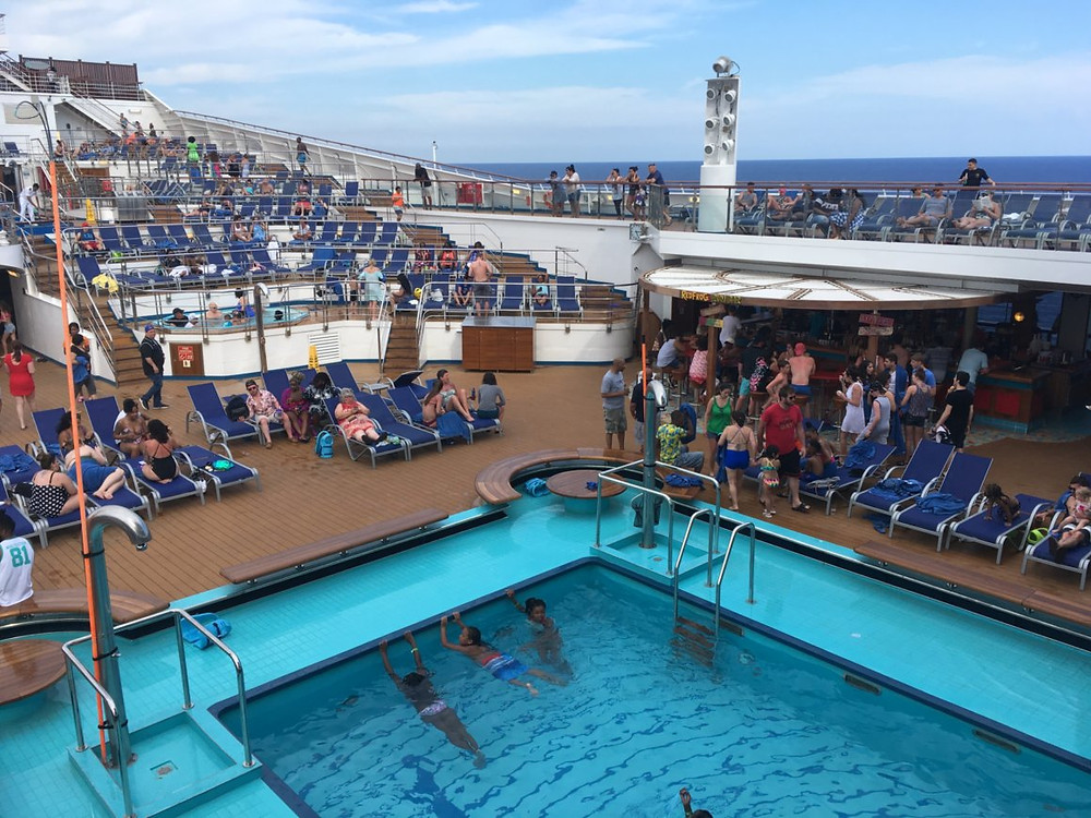 Carnival Cruise, Poolside, Cruise Tips